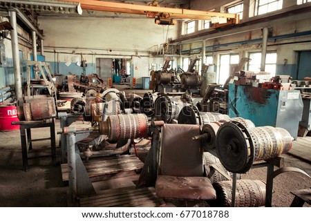 Stator stock images royalty free images vectors for Electric motor repair shops