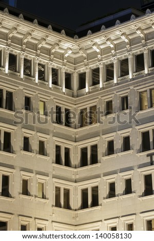 Old residential building - stock photo