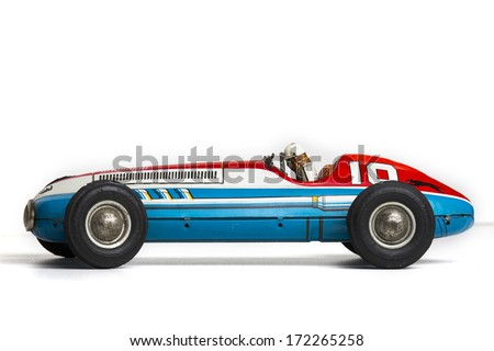 old retro sports race car