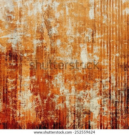 Old retro vintage texture. With different color patterns: yellow (beige); brown; red (orange) - stock photo