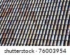 Old roofing - stock photo