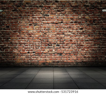 old room brick wall grungy background stock photo edit now