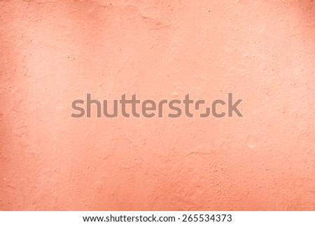 Old rose color cement wall