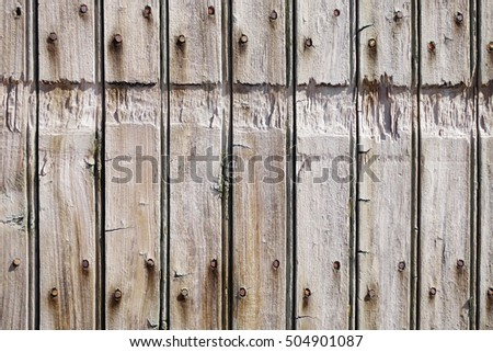Old rough wood board background texture