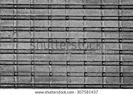 Old rubber surface texture closeup photo background.