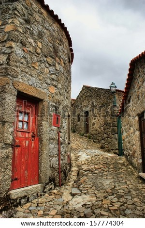 Old rural village of Linhares da Beira, Portugal