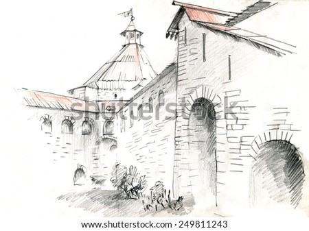 old water pump coloring pages