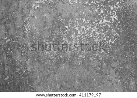 Old rusted metal surface texture background