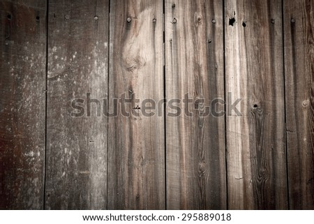 Old rustic faded wooden background texture - stock photo
