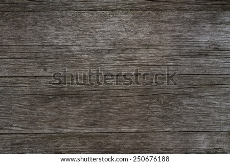 Old rustic wood fence background, wooden surface with text space - stock photo