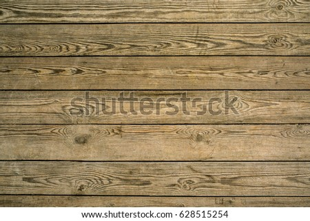 Old rustic wood planked texture background, wooden surface with copy space.