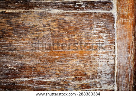 Old rustic wooden background - stock photo