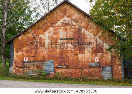 Old rusty building