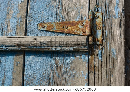 Rusty Door old door heavy iron rusty stock images, royalty-free images
