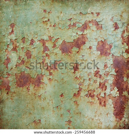 Old rusty iron texture background - stock photo