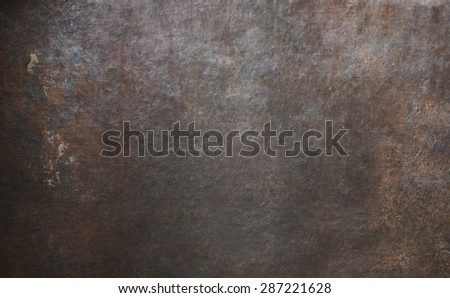 old rusty metal background or texture - stock photo