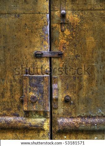Rusty Metal Door old metal door stock images, royalty-free images & vectors