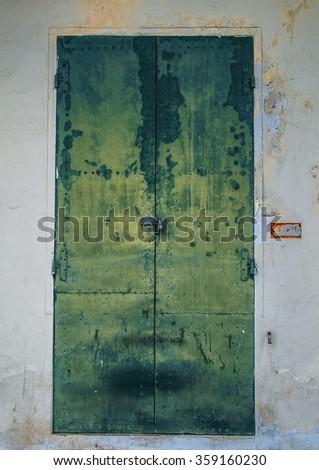 Rusty Metal Door old rusty metal door padlock stock photo 359160230 - shutterstock