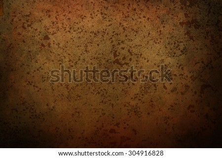 old rusty metal sheet background or texture