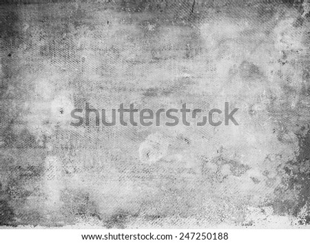 Old rusty surface, abstract bw background - stock photo