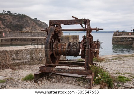 Old Rusty Winch