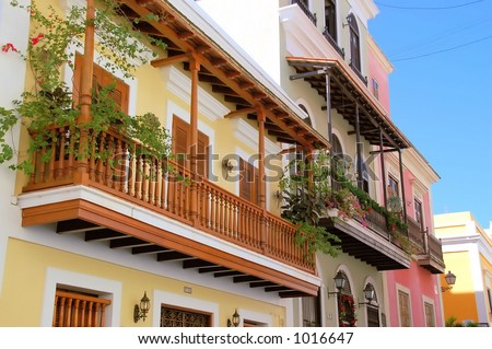 Old San Juan 2 - stock photo