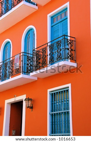 Old San Juan 4 - stock photo