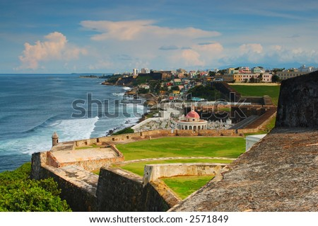 Old San Juan at Puerto Rico