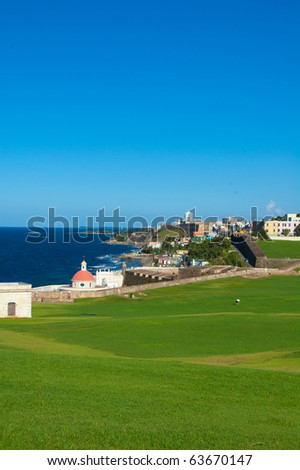 Old San Juan, Puerto Rico - stock photo