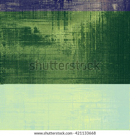 Old school aged texture or background for retro grunge design. With different color patterns: yellow (beige); purple (violet); gray; blue - stock photo