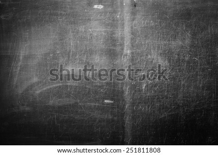 old school board - stock photo