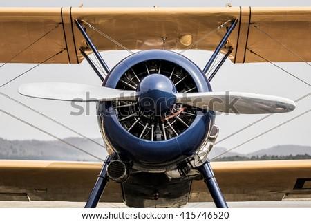 Old School Flight - stock photo