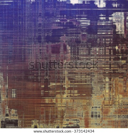 Old school textured background. With different color patterns: yellow (beige); brown; blue; gray; purple (violet)