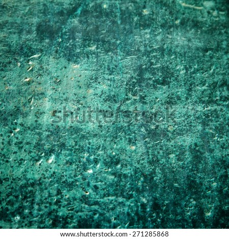 Old, scratched bronze texture - stock photo