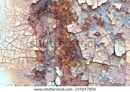 old scratched metal texture - stock photo
