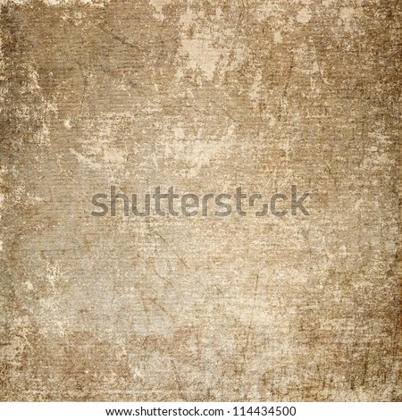 Old scratched paper background. - stock photo