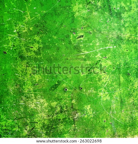 old shabby painted walls and scratched with the old cracked paint - stock photo