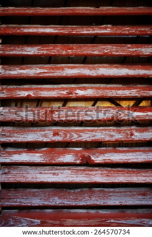 old shabby wooden background from natural board with old paint - stock photo