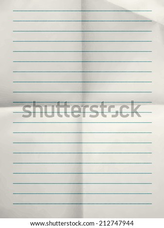 Ruled Paper Background Stock Photos, Royalty-Free Images & Vectors