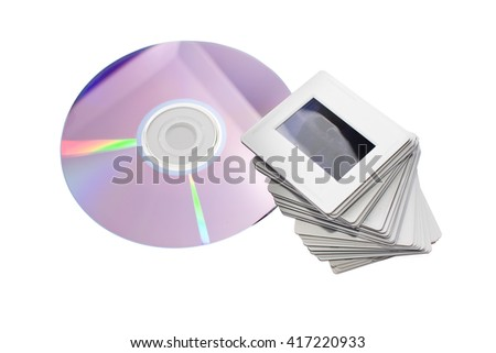 old slides and new dvd: two image archiving systems