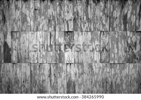 Old small plank wood background - stock photo