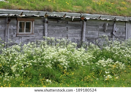 Old stable in Northern Norway