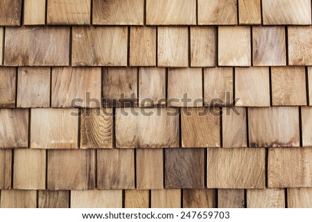 Old stack Wood wall background .