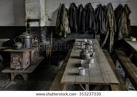 Old staff canteen