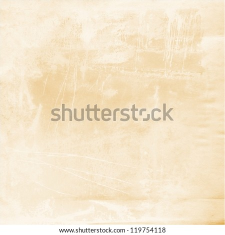 old stained paper ; vintage background - stock photo