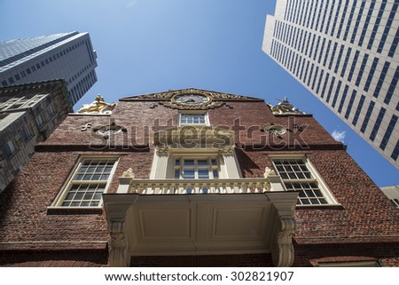 Old state house, Boston, MA, America