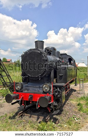 Old steam engine
