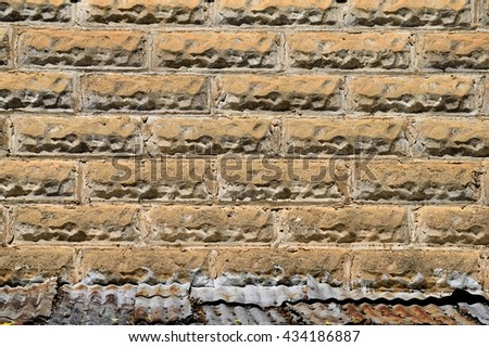 Old stone brick wall exterior background