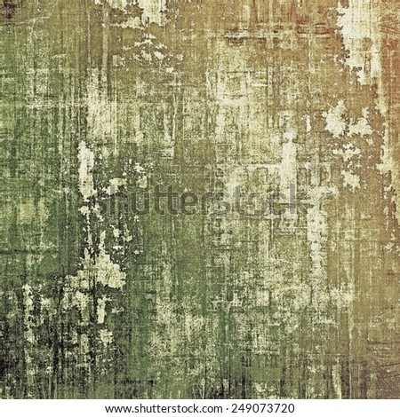 Old style detailed texture - retro background with space for text or image. With different color patterns: yellow (beige); brown; gray; green