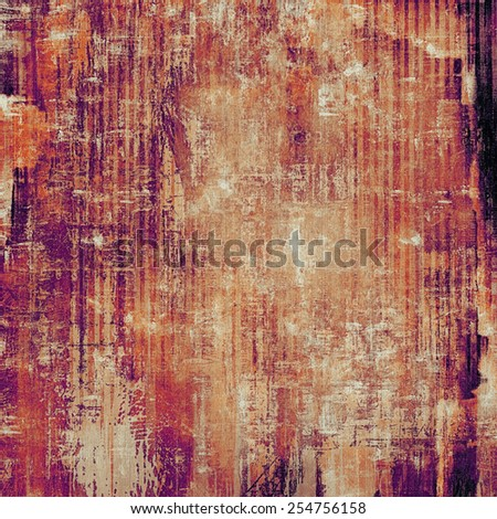 Old style detailed texture - retro background with space for text or image. With different color patterns: yellow (beige); brown; purple (violet); red (orange) - stock photo